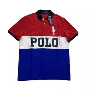 Polo Ralph Lauren Big Polo Spell Out Polo Shirt